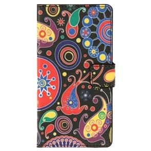 Flowers Pattern Horizontal Flip Leather Case with Holder & Card Slots & Wallet for Wiko Ridge Fab 4G