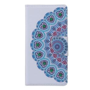 National Style Flower Bud Pattern Horizontal Flip Leather Case with Holder & Card Slots & Wallet for Alcatel Idol 3 5.5inch