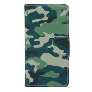 Camouflage Pattern Horizontal Flip Leather Case with Holder & Card Slots & Wallet for Alcatel Idol 3 5.5inch