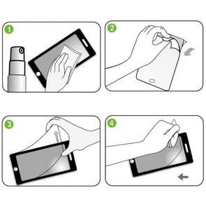 ENKAY HD Crystal Clear PET Screen Protective Film Guard for iPad mini 2 Retina