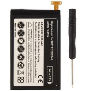 1900mAh Vervanging Batterij met schroevendraaier voor Motorola EB20 / EB40 / XT910 / XT912