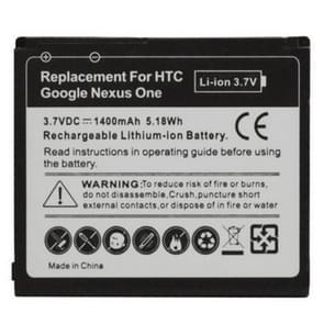 mobiele telefoon Batterij voor HTC Desire / G7, HTC Nexus one / G5