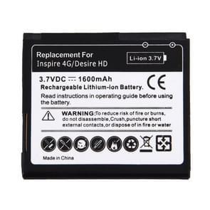 mobiele telefoon Batterij voor HTC Desire HD(zwart)