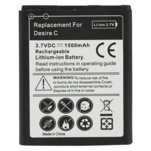 1500mAh Vervanging Batterij voor HTC Desire C / A320e