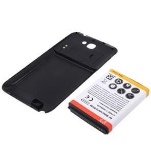 6500mAh Vervanging mobiele telefoon Batterij & achterkant voor Samsung Galaxy Note II / N7100(zwart)