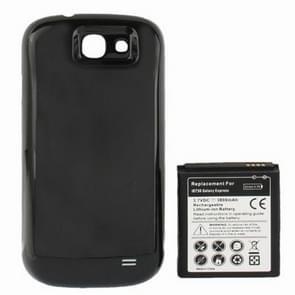 3800mAh Vervanging mobiele telefoon Batterij & achterkant voor Samsung Galaxy Express / i8730(zwart)