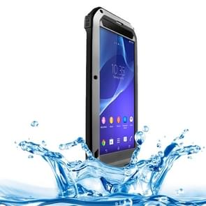 LOVE MEI Metal Ultra-thin Rain Resistant + Dropproof + Shockproof + Dustproof Protective Case for Sony Xperia T2 Ultra(Grey)