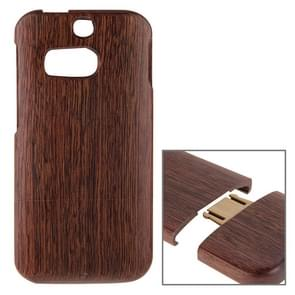 For HTC One M8 Separable Sapele Wooden Case