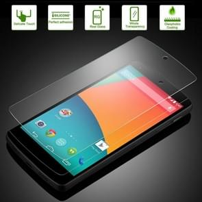 For Google Nexus 5 D820 / D821 0.26mm 9H+ Surface Hardness 2.5D Explosion-proof Tempered Glass Film