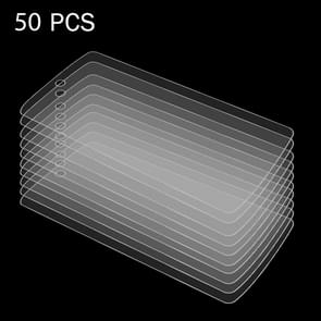 50 PCS for Google Nexus 5 D820 / D821 0.26mm 9H Surface Hardness 2.5D Explosion-proof Tempered Glass Film, No Retail Package