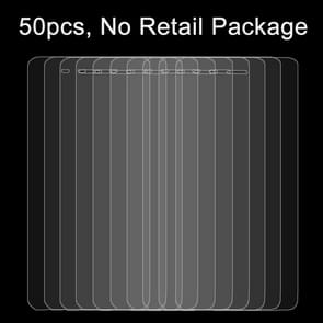 50 PCS Xiaomi Mi4 0.26mm 9H Surface Hardness 2.5D Explosion-proof Tempered Glass Film, No Retail Package