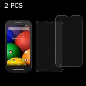 2 PCS for Motorola Moto E / XT1021 / XT1022 / XT1025 0.26mm 9H Surface Hardness 2.5D Explosion-proof Tempered Glass Screen Film