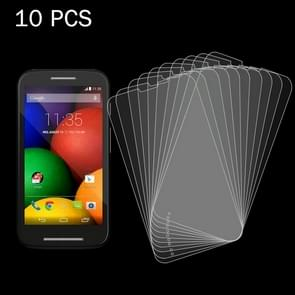 10 PCS for Motorola Moto E / XT1021 / XT1022 / XT1025 0.26mm 9H Surface Hardness 2.5D Explosion-proof Tempered Glass Screen Film