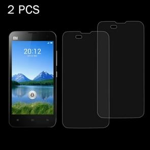 2 PCS Xiaomi Mi 2 0.26mm 9H Surface Hardness 2.5D Explosion-proof Tempered Glass Screen Film