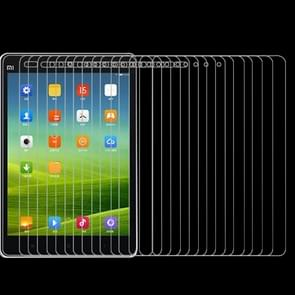 75 PCS 0.4mm 9H+ Surface Hardness 2.5D Explosion-proof Tempered Glass Film voor Xiaomi Mi Pad