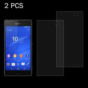 2 PCS for Sony Xperia Z4 / Z3+ 0.26mm 9H Surface Hardness 2.5D Explosion-proof Tempered Glass Screen Film