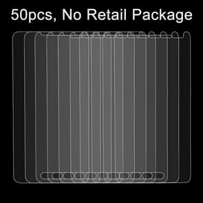 50 PCS for LG Optimus F6 / D500 0.26mm 9H Surface Hardness 2.5D Explosion-proof Tempered Glass Film, No Retail Package