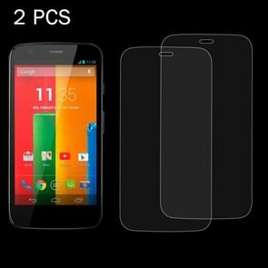 2 PCS for Motorola Moto G / XT1032 0.26mm 9H Surface Hardness 2.5D Explosion-proof Tempered Glass Screen Film