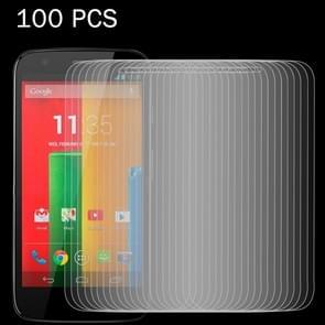 100 PCS for Motorola Moto G / XT1032 0.26mm 9H Surface Hardness 2.5D Explosion-proof Tempered Glass Screen Film