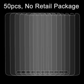 50 PCS for LG L70 D320N 0.26mm 9H Surface Hardness 2.5D Explosion-proof Tempered Glass Film, No Retail Package