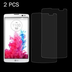 2 PCS for LG GX2 / G Vista / VS880 0.26mm 9H Surface Hardness 2.5D Explosion-proof Tempered Glass Screen Film