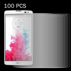 100 PCS for LG GX2 / G Vista / VS880 0.26mm 9H Surface Hardness 2.5D Explosion-proof Tempered Glass Screen Film