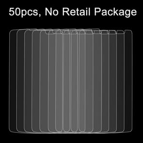 50 PCS for LG GX2 / G Vista / VS880 0.26mm 9H Surface Hardness 2.5D Explosion-proof Tempered Glass Film, No Retail Package