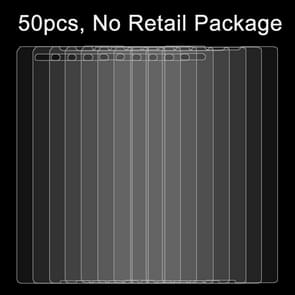 50 PCS for Sony Xperia T2 Ultra / XM50h 0.26mm 9H Surface Hardness 2.5D Explosion-proof Tempered Glass Film, No Retail Package