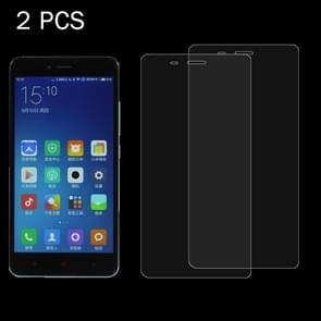 2PCS Xiaomi Redmi 2 0.26mm 9H+ Surface Hardness 2.5D Explosion-proof Tempered Glass Film