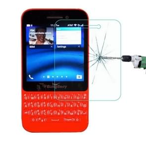 For BlackBerry Q5 0.26mm 9H+ Surface Hardness 2.5D Explosion-proof Tempered Glass Film