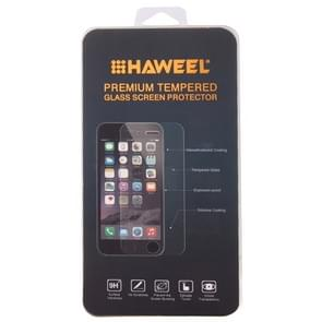0.4mm 9H+ Surface Hardness 2.5D Explosion-proof Tempered Glass Film for Huawei MediaPad X1 / X2