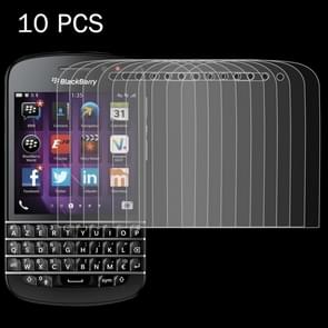 10 PCS for Blackberry Q10 0.26mm 9H Surface Hardness 2.5D Explosion-proof Tempered Glass Screen Film