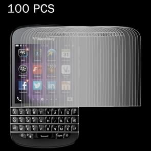 100 PCS for Blackberry Q10 0.26mm 9H Surface Hardness 2.5D Explosion-proof Tempered Glass Screen Film