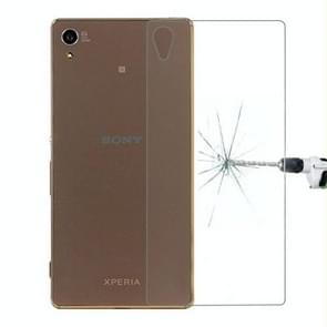 For Sony Xperia Z4 / Z3 Plus 0.26mm 9H Surface Hardness Explosion-proof Back Tempered Glass Film