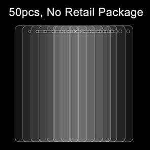 50 PCS for Lenovo S1 0.26mm 9H Surface Hardness 2.5D Explosion-proof Tempered Glass Film, No Retail Package