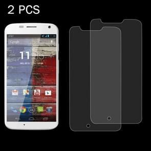 2 PCS for Motorola Moto X / XT1056 / XT1058 / XT1060 0.26mm 9H Surface Hardness 2.5D Explosion-proof Tempered Glass Screen Film