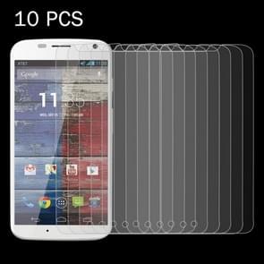 10 PCS for Motorola Moto X / XT1056 / XT1058 / XT1060 0.26mm 9H Surface Hardness 2.5D Explosion-proof Tempered Glass Screen Film