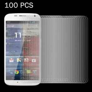 100 PCS for Motorola Moto X / XT1056 / XT1058 / XT1060 0.26mm 9H Surface Hardness 2.5D Explosion-proof Tempered Glass Screen Film
