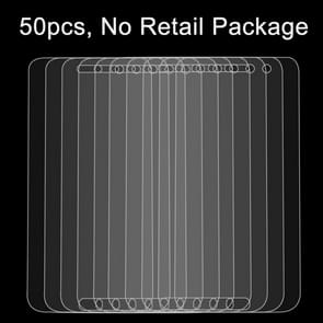 50 PCS Lenovo ZUK Z1 0.26mm 9H Surface Hardness 2.5D Explosion-proof Tempered Glass Film, No Retail Package