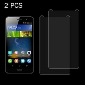 2 PCS for Huawei Y6 0.26mm 9H Surface Hardness 2.5D Explosion-proof Tempered Glass Screen Film