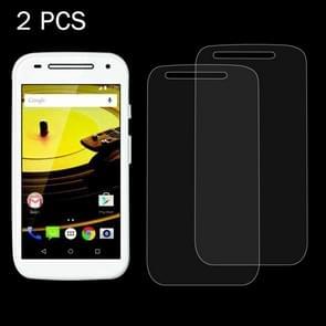 2 PCS for Motorola Moto E2 (Moto E 2nd Gen) 0.26mm 9H Surface Hardness 2.5D Explosion-proof Tempered Glass Screen Film
