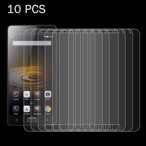10 PCS Lenovo VIBE P1 0.26mm 9H Surface Hardness 2.5D Explosion-proof Tempered Glass Screen Film