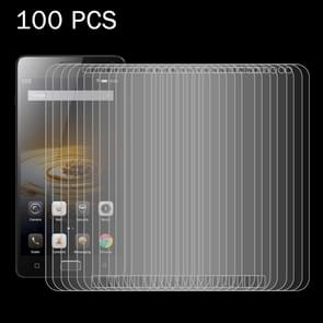 100 PCS Lenovo VIBE P1 0.26mm 9H Surface Hardness 2.5D Explosion-proof Tempered Glass Screen Film