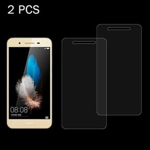 2 PCS for  Huawei Enjoy 5S 0.26mm 9H Surface Hardness 2.5D Explosion-proof Tempered Glass Screen Film