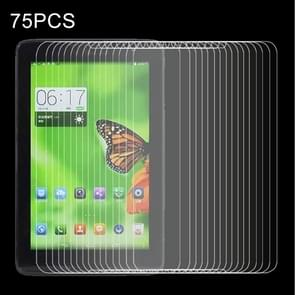 75 PCS voor Lenovo A5500 / A8-50 0.4mm 9H+ Surface Hardness 2.5D Explosion-proof Tempered Glass Film