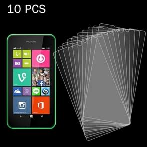 10 PCS for Nokia Lumia 530 / N530 0.26mm 9H+ Surface Hardness 2.5D Explosion-proof Tempered Glass Film