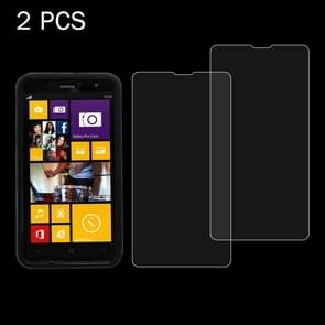 2 PCS for Nokia Lumia X 0.26mm 9H+ Surface Hardness 2.5D Explosion-proof Tempered Glass Film