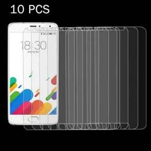 10PCS Meizu Metal 0.26mm 9H+ Surface Hardness 2.5D Explosion-proof Tempered Glass Film