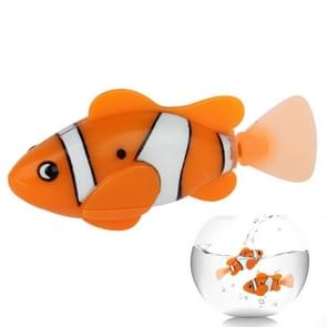 Robot Fish / Electric Pet Fish Toy, Size: 7.5cm x 1.8cm x 3.5cm (Orange)