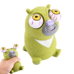 Cute Bear Model Tricky Extrusion Eye Toy Zoolife Popeyes(Green)